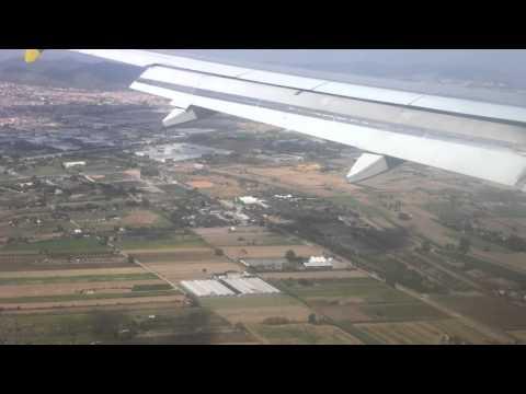 Atterrissage à l'aéroport de Barcelone