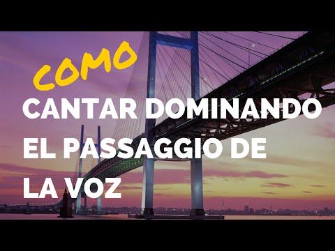 COMO CANTAR DOMINANDO EL PASSAGGIO - CURSO DE CANTO