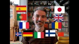 Italian guy speaking 9 languages! (+2) [Polyglot Language Snapshot]