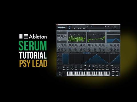 Psytrance  - Psy lead Serum tutorial -...