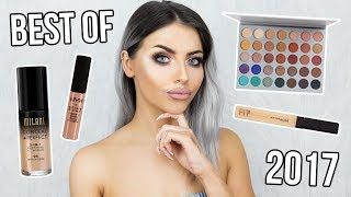 THE BEST MAKEUP OF 2017 / YEARLY FAVOURITES - HAPPY NEW YEAR YO