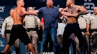 UFC 202: Nate Diaz vs. Conor McGregor Staredown