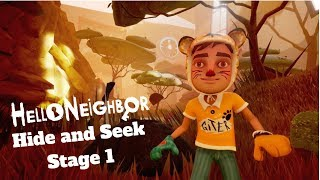 Hello Neighbor Hide and Seek Mobile Stage 1