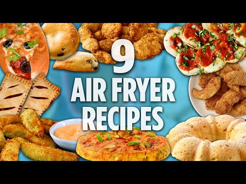 9 Amazingly Delicious Air Fryer Recipes | Recipe Compilation | Allrecipes.com