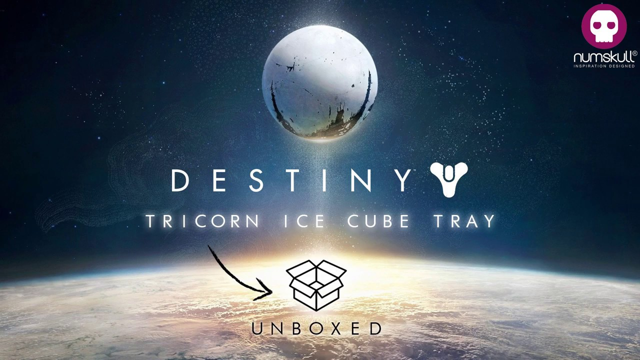 Destiny Official Tricorn Ice Cube Tray