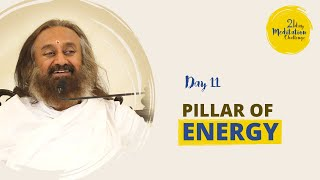 Pillar of Energy | Day 11 of the 21 Day Meditation Challenge with Gurudev