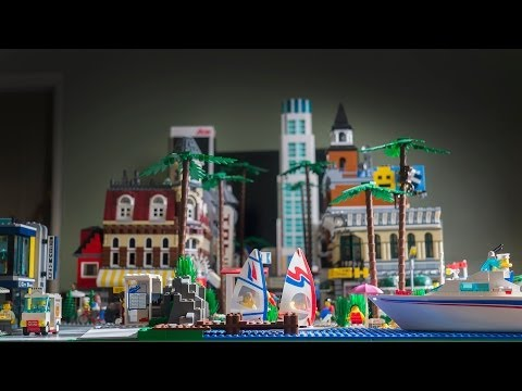 LEGO Los Angeles | 2014 City Layout