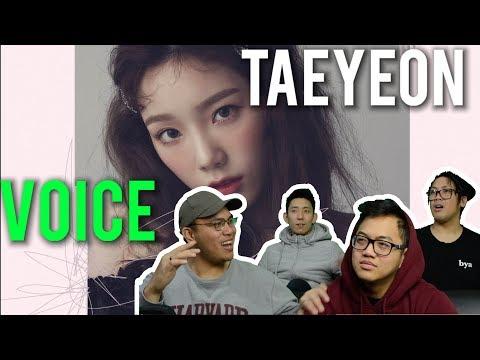 """TAEYEON'S ANGELIC """"VOICE"""" (MV Reaction)"""