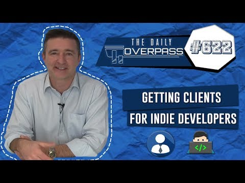Getting Clients for Indie Developers