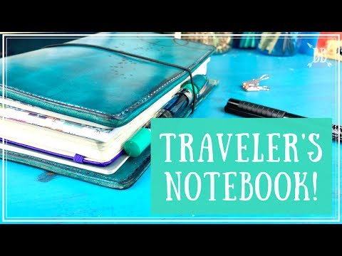 I'm Moving into a Traveler's Notebook!!!
