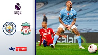 Unterhaltsames Topspiel | Manchester City - FC Liverpool 1:1 | Highlights - Premier League