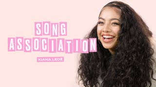 Kiana Ledé Sings Halsey, Justin Bieber, and Alessia Cara in a Game of Song Association | ELLE