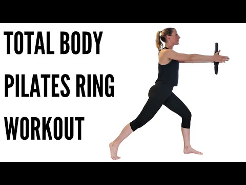 TOTAL BODY PILATES RING WORKOUT (***UPPER & LOWER BODY BLAST***)