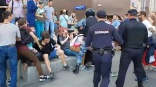 Москва: после протестов