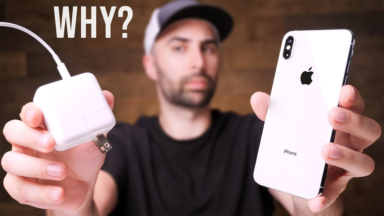 the latest 766fe 1ebc3 The REAL Reason iPhone XS Doesn't Come With A Fast Charger