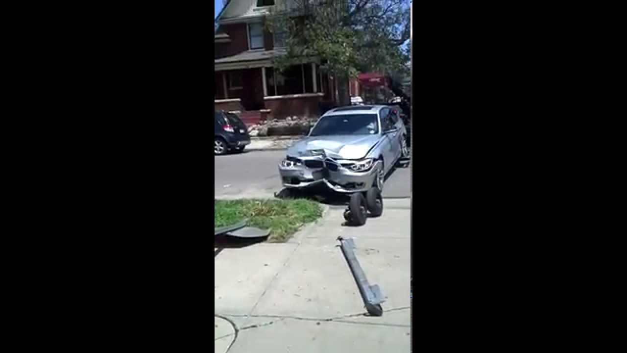 50 000 dollar bmw crashes into my brick house youtube for 50000 dollar house