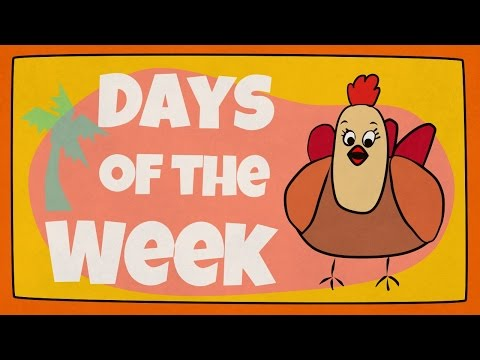 Days of the Week Song | The Singing Walrus
