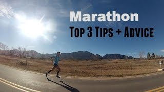 BEST MARATHON TRAINING TIPS: Advice for Runners by Sage Canaday