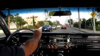 1963 Pontiac Grand Prix out for a drive
