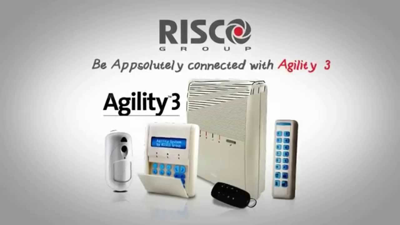 Risco Agility 3 Wireless Alarm System Youtube
