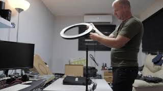 Video Unboxing Neewer Ring Flash Camera Photo/Video 18 inches download MP3, 3GP, MP4, WEBM, AVI, FLV Juli 2018