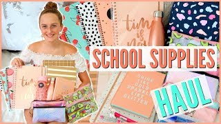 Back To School Supplies Haul 2018! Come Shopping With Me - Millie and Chloe