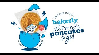 introducing bakerly's French pancakes to go!