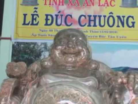 Thiền Sư An Lạc Hạnh - Tượng Đức Phật Di Lạc