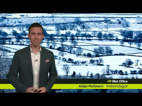 Monday afternoon forecast 16/01/18