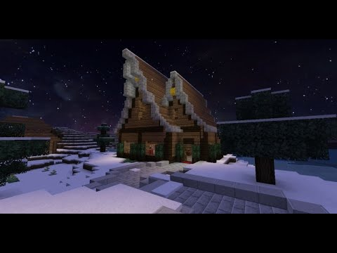 Tuto minecraft maison en bois 1 youtube - Maison en bois minecraft ...