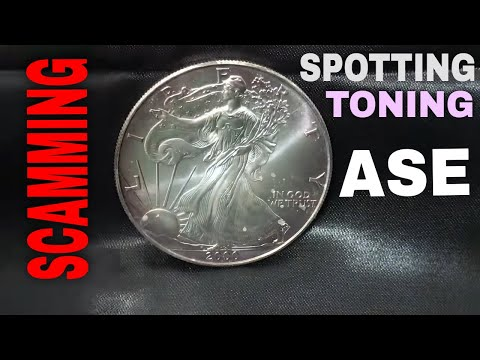 American Silver Eagle: Toning, Spotting, & Scamming!