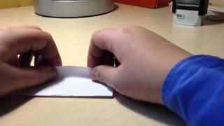 как сделать свисток из бумаги видео своими руками