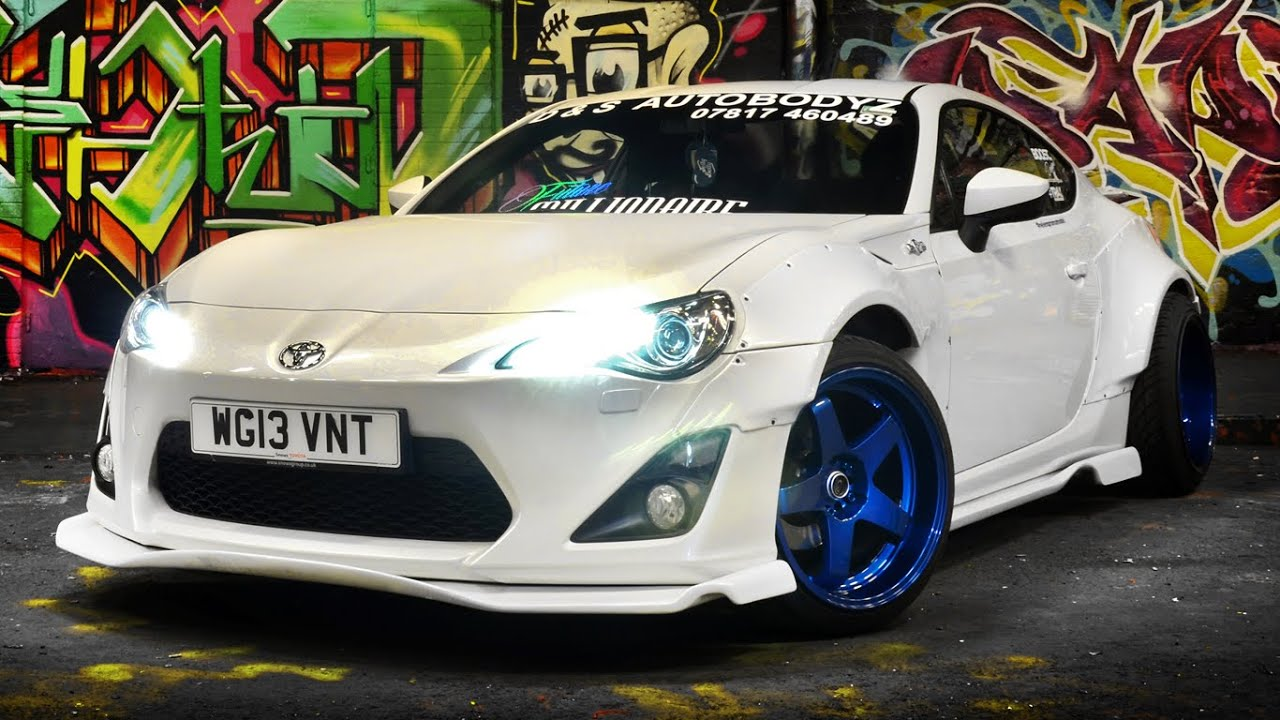 toyota gt86 rocket bunny flybys revs and scenes youtube. Black Bedroom Furniture Sets. Home Design Ideas