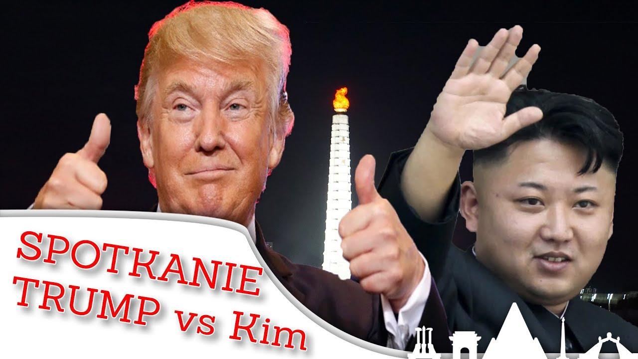 TRUMP spotka KIM JONG UNA