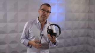 Sennheiser HD8 DJ Headphones Talkthrough Video