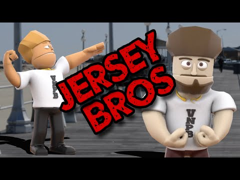 SUPER JERSEY BROS - Funhaus Cartoons