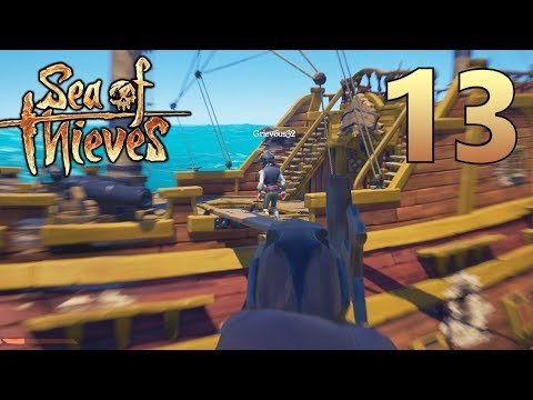 [13] The Endless Battle!!! (Sea Of Thieves Gameplay PC)