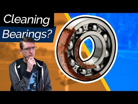 Cleaning Bearings with Bones Cleaning Kit + Review
