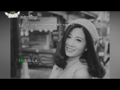 Cánh Hồng Phai || Karaoke Cảm Âm C5 || Sáo Trúc