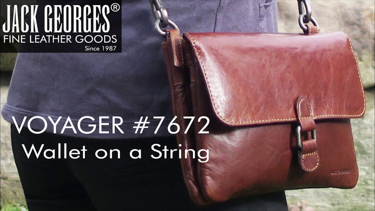 Voyager Wallet on a String  7672. Jack Georges Inc. 81acce027d