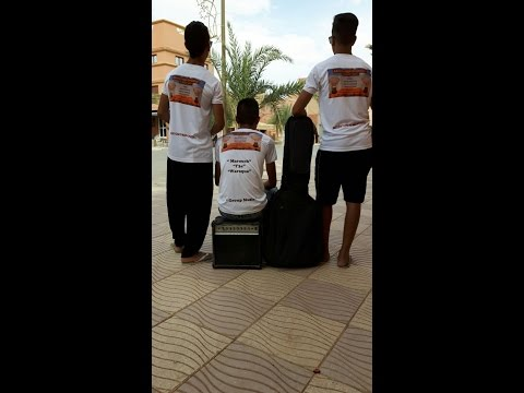 Group Musical Merzouga Brothers a hotel Erfoud