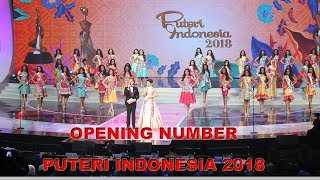 Opening Number Puteri Indonesia 2018