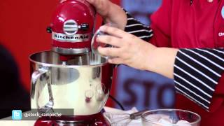 Tutorial Muffins Red Velvet Stock de Ingredientes