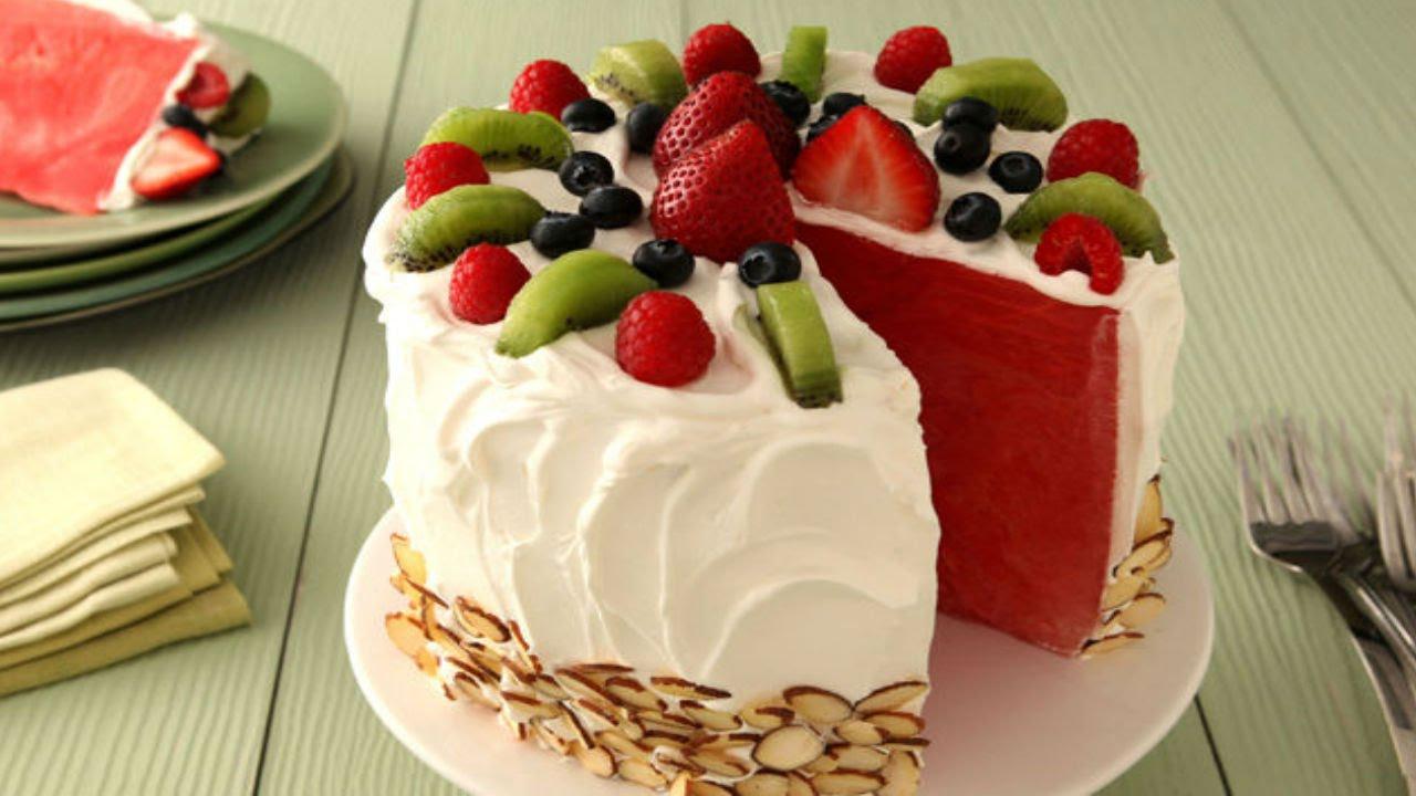 Kraft Recipes Watermelon Cake