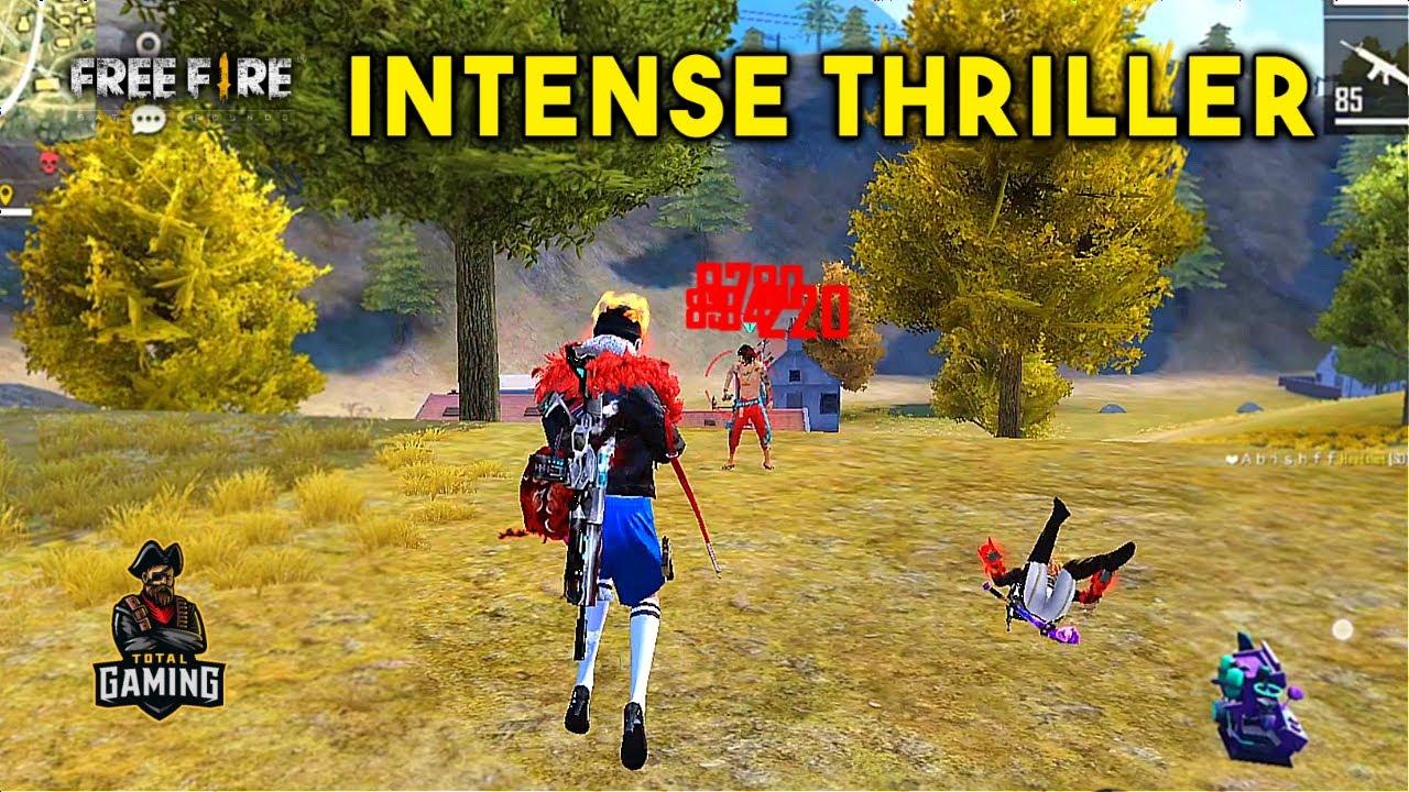 Best One Take Intense Thriller Ajjubhai and Amitbhai Gameplay - Garena Free Fire