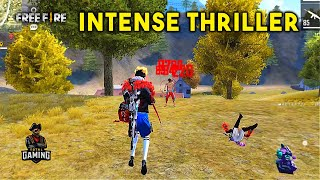 Best One Take Intense Thriller Ajjubhai and Amitbhai Gameplay - Garena Free Fire