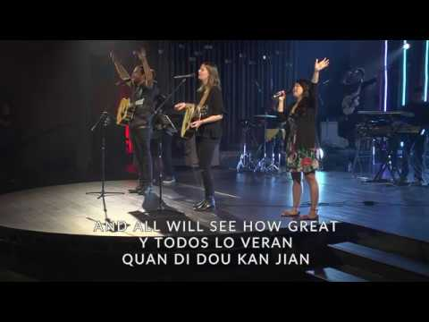 How Great Is Our God - Multilingual | Newsong Church 2017 Easter Gathering