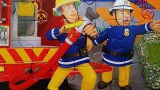 Feuerwehrmann Sam Puzzle /Firefighter Sam / пожарный Сэм /Fireman Sam / İtfaiyeci Sam