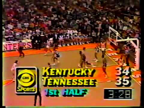 1.27.1985 Tennessee 81 Kentucky 65 Stokely Center