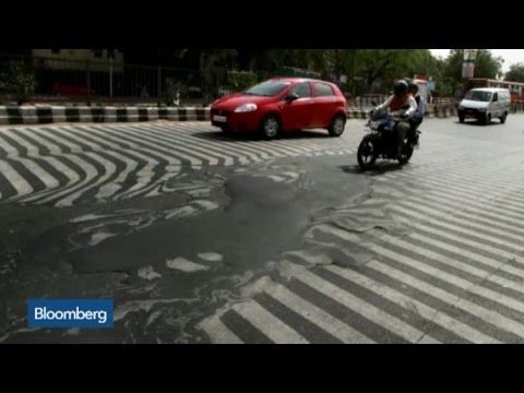 Top Photos: Roads Melt During Severe Heatwave in India